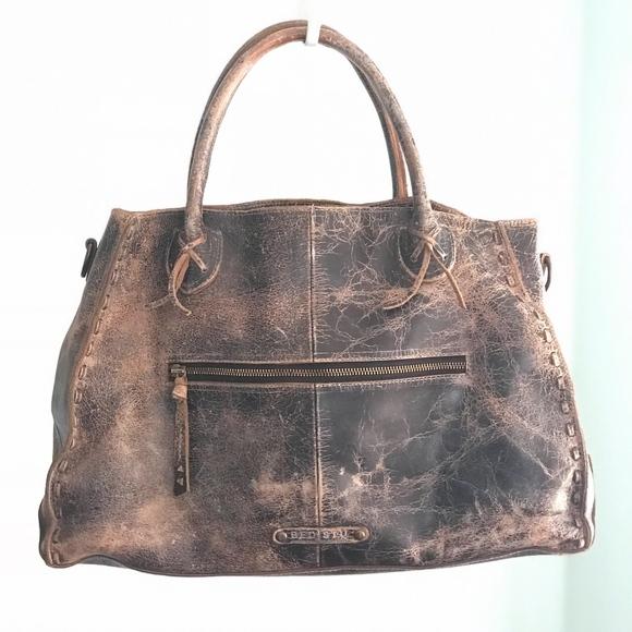 Bed Stu Handbags - Bed Stu Rockaway Black Lux Bag 8bba0c9a0f5ef
